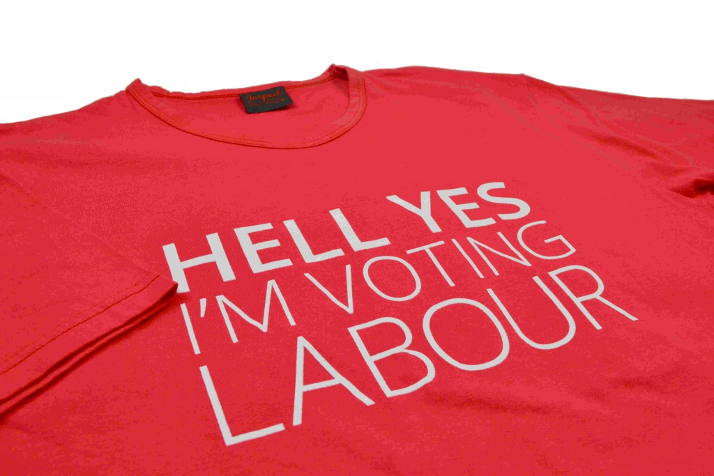 Labour Party Made in Britain T Shirts