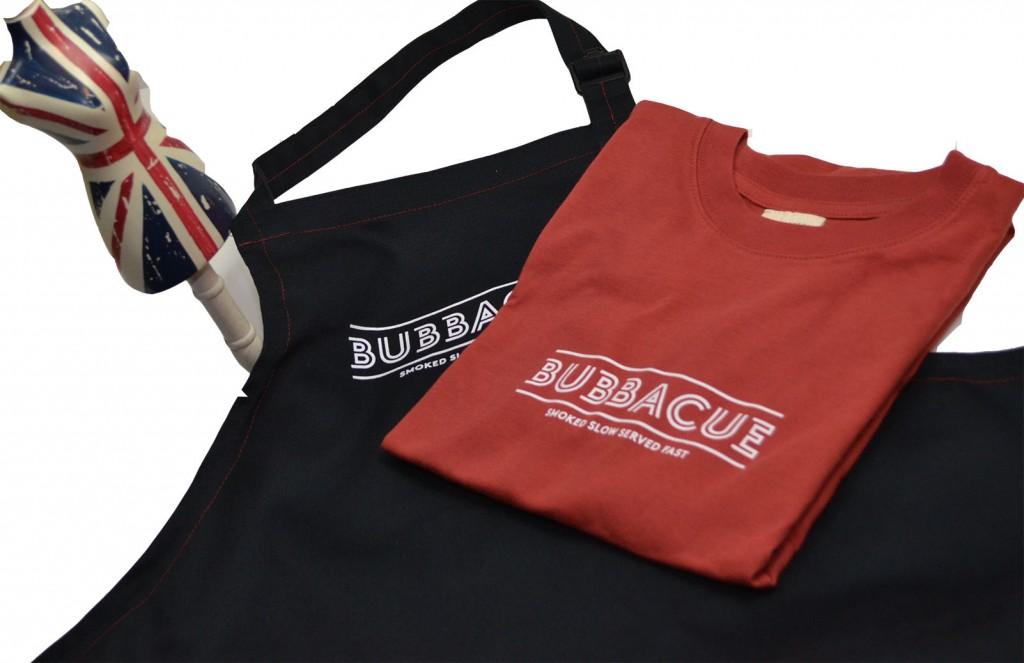 Bubbacue made in Britain Organic T Shirts