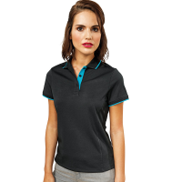 Womens contrast Coolchecker polo