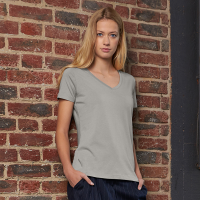 Organic - Womens V Neck T Shirt
