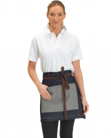 Denim Apron Contrast Pocket