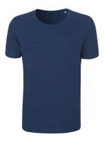 Organic Denim Round Neck Tee