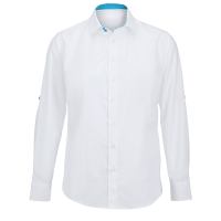 Men's roll-up sleeve shirt