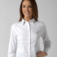 Annabel Ladies Long Sleeve Stretch Blouse