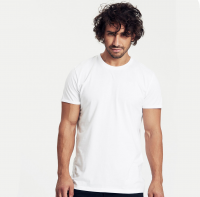 Fairtrade & Organic Mens Roll Sleeve T