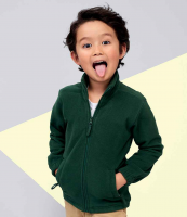 Childrens Zip Fleece