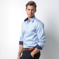 Contrast Oxford Shirt