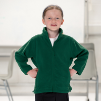 Childrens Full Zip Fleece