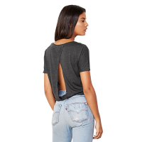 Flowy Open Back Tee