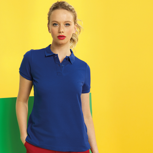 Ladies classic fit performance polo