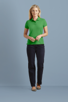 Womens DryBlend double piqué polo