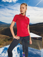 Womens Tri-Dri panelled polo