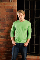 Heather Long sleeve T Shirt Mens