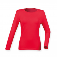 feel good stretch long sleeved womens