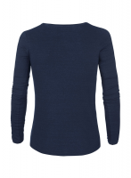 Organic Ladies Denim Long Sleeved Tee