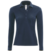 Womens Long Sleeve Polo