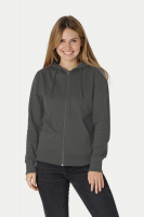 Fairtrade and Organic Ladies Hoodie with Zip