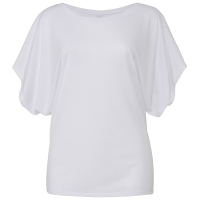 Flowy Draped Sleeve Tee