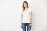 Deep V neck T Shirt