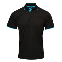 Contrast Coolchecker polo