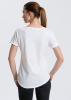 Fairtrade & Organic Ladies Roll Sleeve T