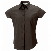 Womens Short sleeve fitted shirt