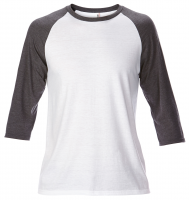 Triblend ¾ sleeve raglan T Shirt