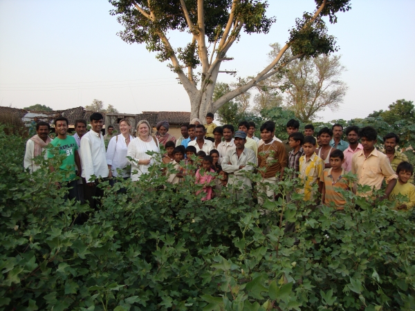 Visiting Fairtrade Cotton Farmers