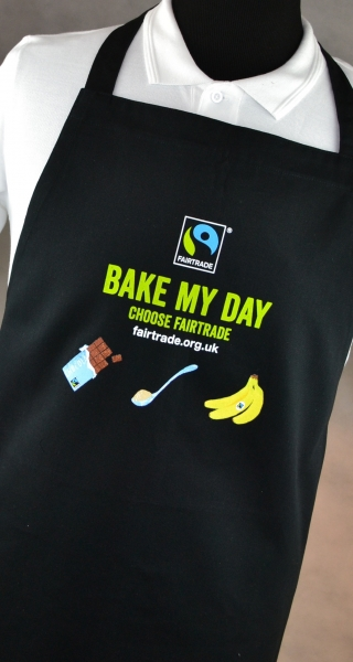 Fairtrade certifed aprons supplier