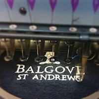 Embroidering Your Logo