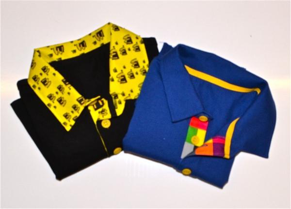 a2c75e34 Polo shirts Pantone matched,custom made to your design. Low minimum ...