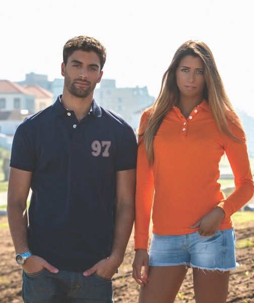 Quality polo shirts male and female styles made to order to meet customers specification
